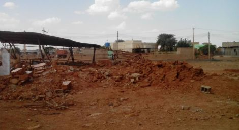 Sudan church demolished sized