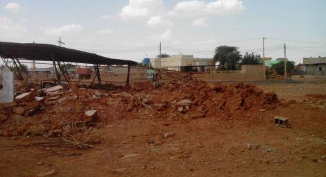 Sudan church demolished sized
