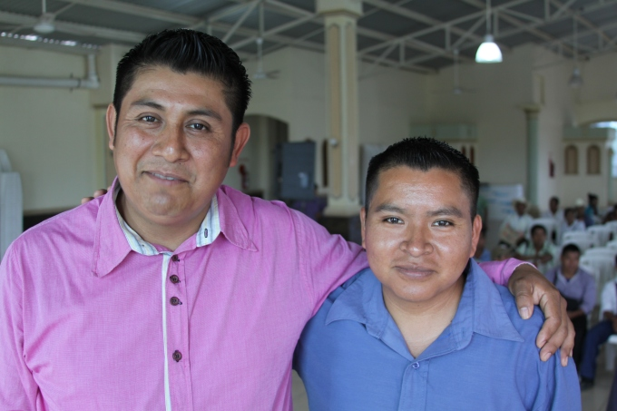 Casto Hernandez and his pastor2