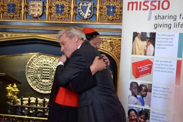 Cardinal Bo and Mr Speaker