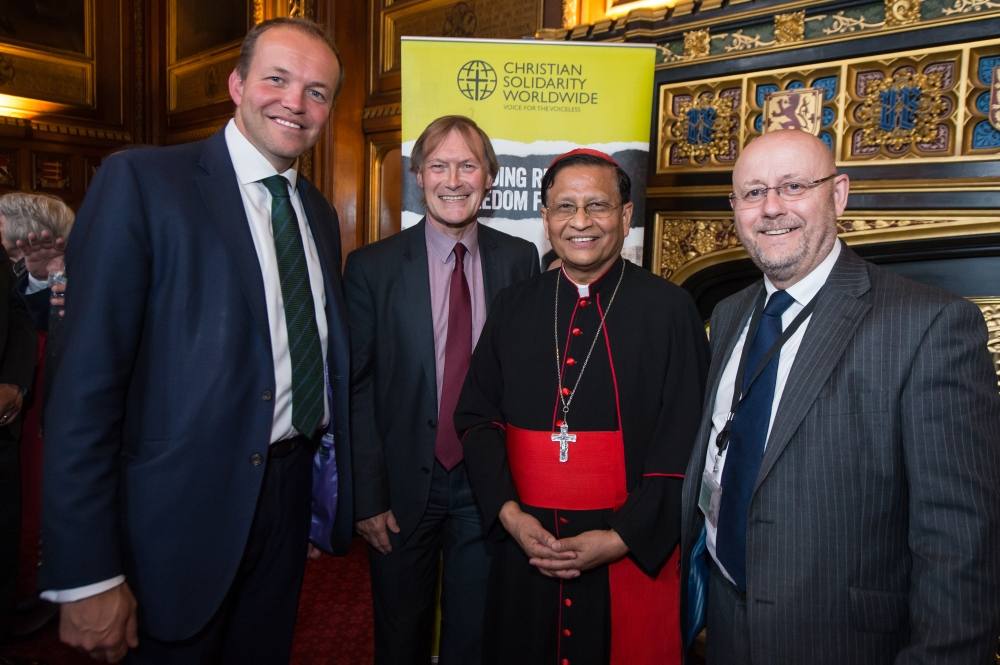 Cardinal Bo at Speakers House