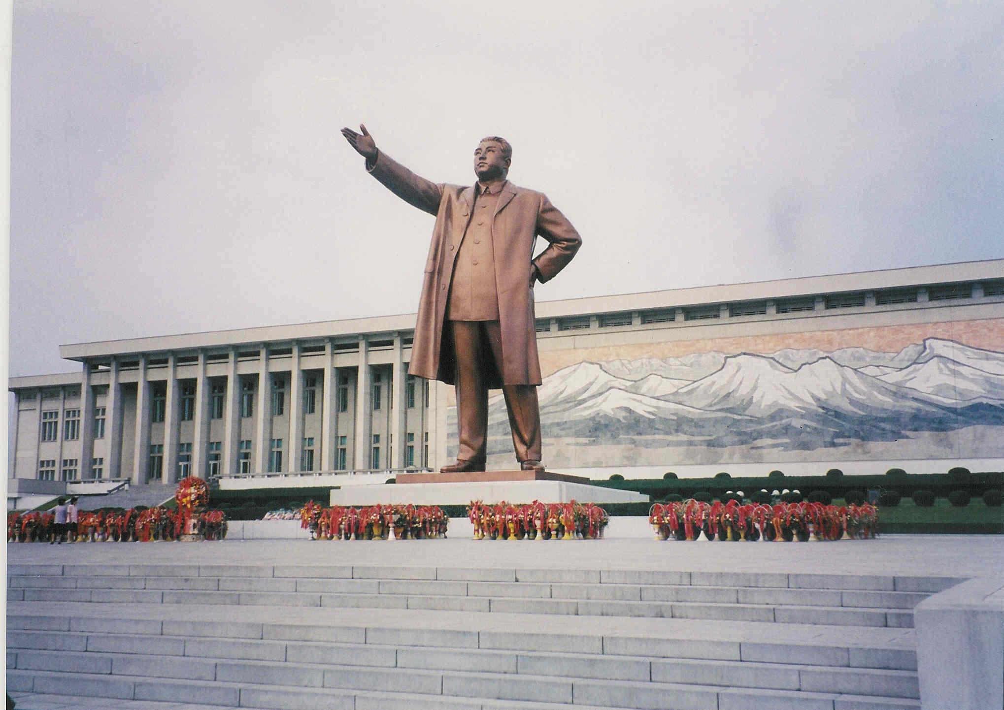 Statue of Kim II Sung