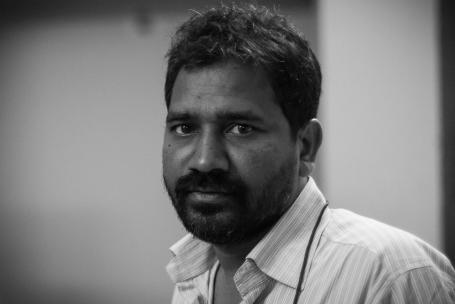 Fr Ajay Singh in Bhubaneswar